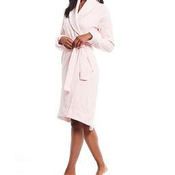 W Duffield II Fleece Wrap Robe | Dillards