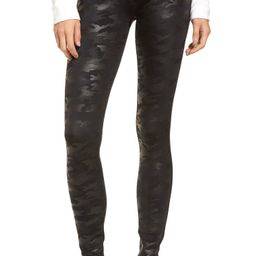 Faux Leather Camo Leggings | Nordstrom