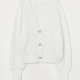 Rhinestone-button Cardigan               $29.99 | H&M (US)