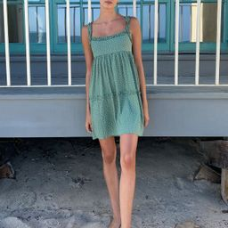 Dress Forum Ruffle Tie-Back Mini Dress | Urban Outfitters (US and RoW)
