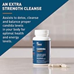 Dr Tobias Candida Support - Extra Strength Candida Cleanse - with Herbs & Enzymes | Amazon (US)