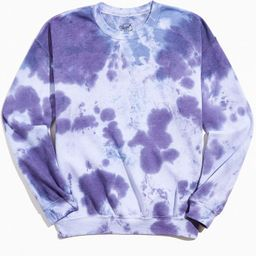Neon Riot Core Tie-Dye Crew Neck Sweatshirt   Urban Outfitters (US and RoW)