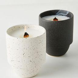 Akemi Ceramic Candle   Anthropologie (US)