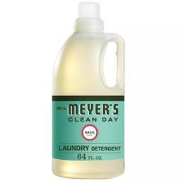 Mrs. Meyer's Basil Scented Laundry Detergent - 64 fl oz   Target