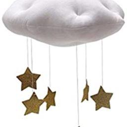 BESTOYARD Baby Nursery Ceiling Mobile Crib Mobile Clouds Moon Stars Ceiling Hanging Decorations K... | Amazon (US)