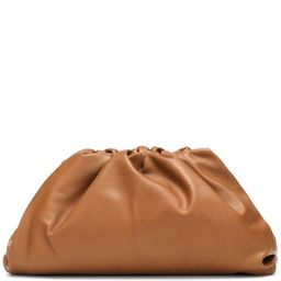 The Pouch leather clutch   Mytheresa (US)