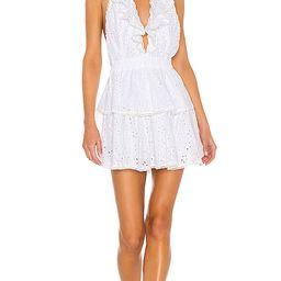LoveShackFancy X REVOLVE Carlisle Dress in White. - size XS (also in S,M,L)   Revolve Clothing (Global)