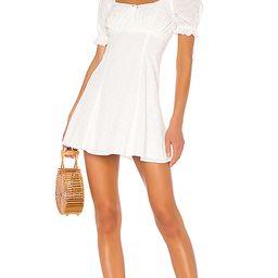 LPA Simona Dress in White. - size S (also in XXS,XS,M,L)   Revolve Clothing (Global)