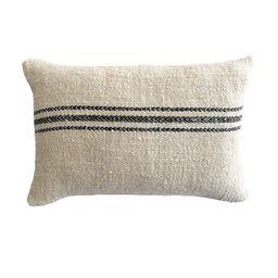 Antique Pillow Vintage Grainsack Pillow Farmhouse Pillows   Etsy   Etsy (US)