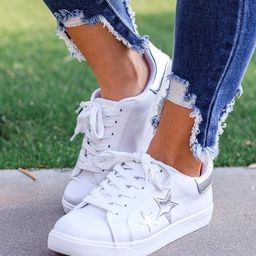 Seeing Stars White Sneakers | Shop Priceless