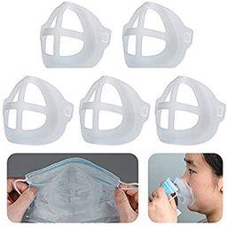 Cool Lipstick Protection Stand - 3D Mask Bracket - Nasal Mask Pad - Inner Support Bracket Breathi... | Amazon (US)