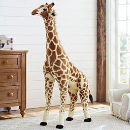 Jumbo Giraffe Plush   Pottery Barn Kids