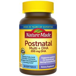Nature Made Postnatal + DHA Softgels - 60ct | Target