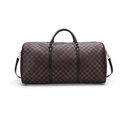 Checkered Tote Shoulder Handbags Bag with inner pouch PU Vegan Leather | Walmart (US)