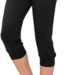 ALWAYS Women's Jogger Pants - Lightweight Skinny Solid Soft Stretch Pockets Sweatpants   Amazon (US)