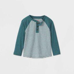 Toddler Boys' Confetti Striped T-Shirt - Cat & Jack™ Green | Target
