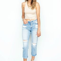 Cut To The Chase Super High Rise Button Up Denim | Apricot Lane Boutique