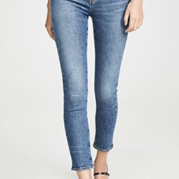 Toni Mid Rise Straight Jeans   Shopbop