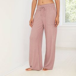 Women's Perfectly Cozy Wide Leg Lounge Pants - Stars Above™ | Target