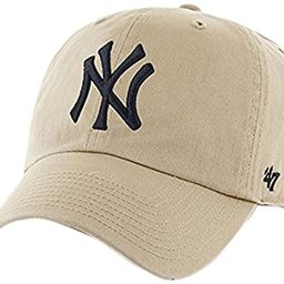 '47 MLB Womens Men's Brand Clean Up Cap One-Size | Amazon (US)