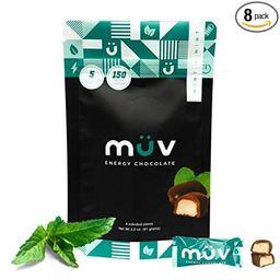MUV Energy Chocolate Truffles - Mint Chocolate Truffles - Healthy Snacks for Adults - Caffeinated... | Amazon (US)