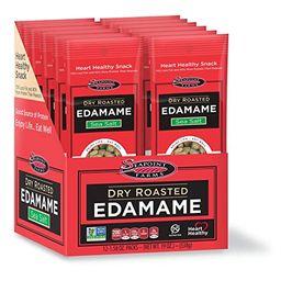 Seapoint Farms Sea Salt Dry Roasted Edamame, Healthy Snacks, 1.58 oz, 12-Pack | Amazon (US)