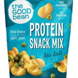 The Good Bean Crispy Favas Plus Peas, Sea Salt, 6 Ounce (Pack of 6) | Amazon (US)