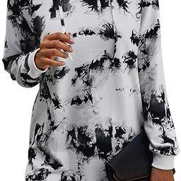 KIRUNDO Women's 2020 Winter Long Sleeves Sweatshirt Dress Solid Color Hoodie Drawstring Belt Lo...   Amazon (US)