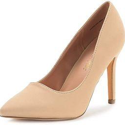 DREAM PAIRS Women's Heels Pump Shoes   Amazon (US)