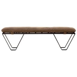 Drew Leather Bench | McGee & Co.
