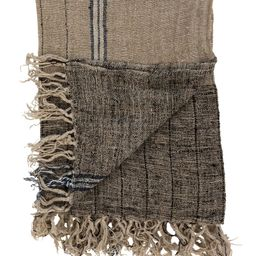 Pershing Linen Throw | McGee & Co.