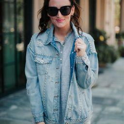 Road Trip Wonder Jeweled Denim Jacket | Apricot Lane Boutique