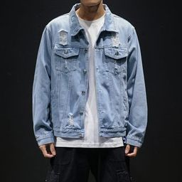 Distressed Denim Jacket | YesStyle Global