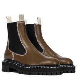 Chelsea Boots aus Leder   Mytheresa (DACH)
