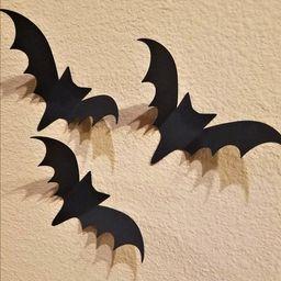 Halloween Bats, Flying Bats, 3D Bats Wall Decor, Halloween Decorations, Halloween Decor, Hallowee... | Etsy (US)