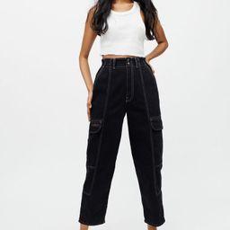 BDG Blaine High-Waisted Skate Jean – Black Denim   Urban Outfitters (US and RoW)