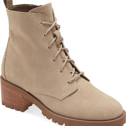 Keaton Water Resistant Lace-Up Bootie   Nordstrom
