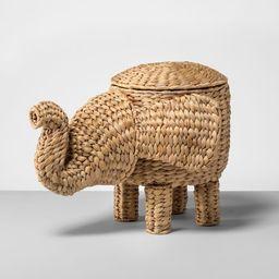 "15.7"" x 12.2"" Rattan Elephant Basket Natural - Opalhouse™ | Target"