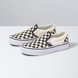 Kids Checkerboard Slip-On | Vans (US)