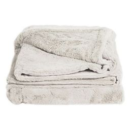 Cariloha Reversible Quilted Throw Blanket in Coconut Milk | Bed Bath & Beyond