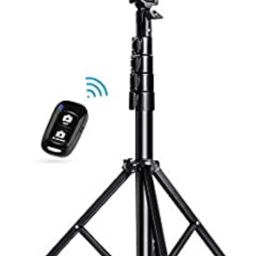 """Selfie Stick Tripod, UBeesize 51"""" Extendable Tripod Stand with Bluetooth Remote for iPhone & Andr... 