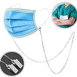 SAM & LORI Mask Holder Lanyard Chain Necklace Strap Stylish Leash Handy Face Mask Retainer Hanger... | Amazon (US)