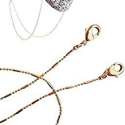 Face Mask Chain | Mask Strap | Mask Holder | Mask Lanyard | Mask Retainer | Necklace for Mask | L... | Amazon (US)