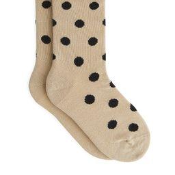 Socken mit Tupfenmuster   ARKET