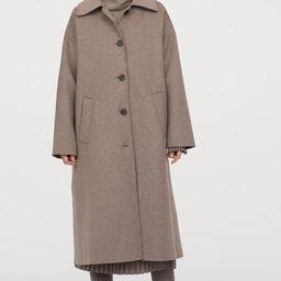 Wool-blend coat               £99.99   H&M (UK, IE, MY, IN, SG, PH, TW, HK)