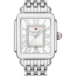 Deco Madison Diamond Dial Watch Head & Bracelet, 29mm x 31mm | Nordstrom