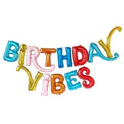 Packed Party Birthday Vibes Balloon Banner | Walmart (US)