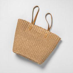 Market Bag Natural - Hearth & Hand with Magnolia, Beige | Target
