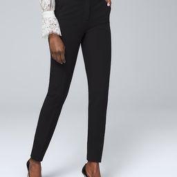 Comfort Stretch Slim Ankle Pants | White House Black Market