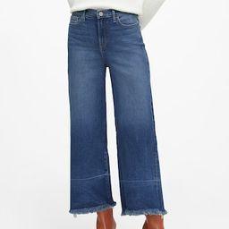 Petite High-Rise Wide-Leg Cropped Jean   Banana Republic (US)
